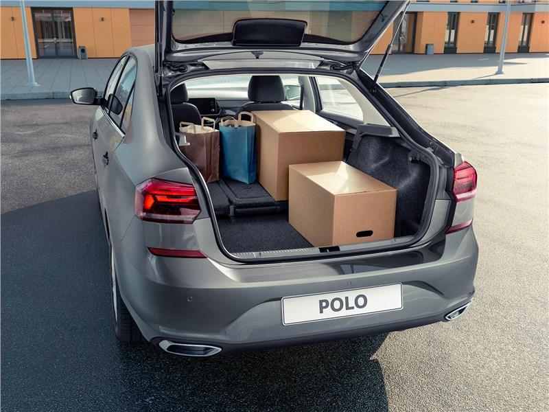 Volkswagen Polo Sedan 2020 багажное отделение