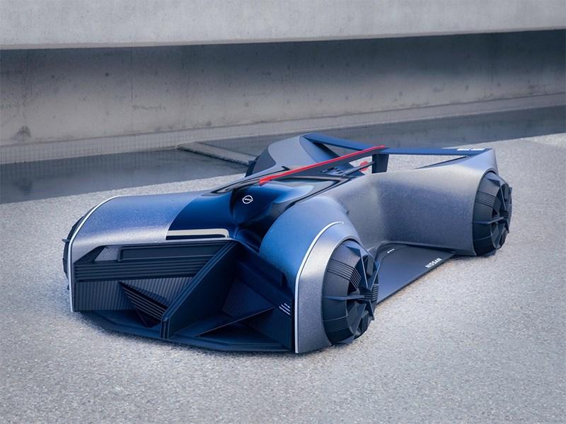 В Nissan представили GT-R будущего