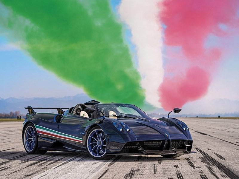 В Pagani создали спорткар для авиаторов