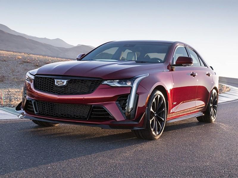 Cadillac представил свои заряженные седаны