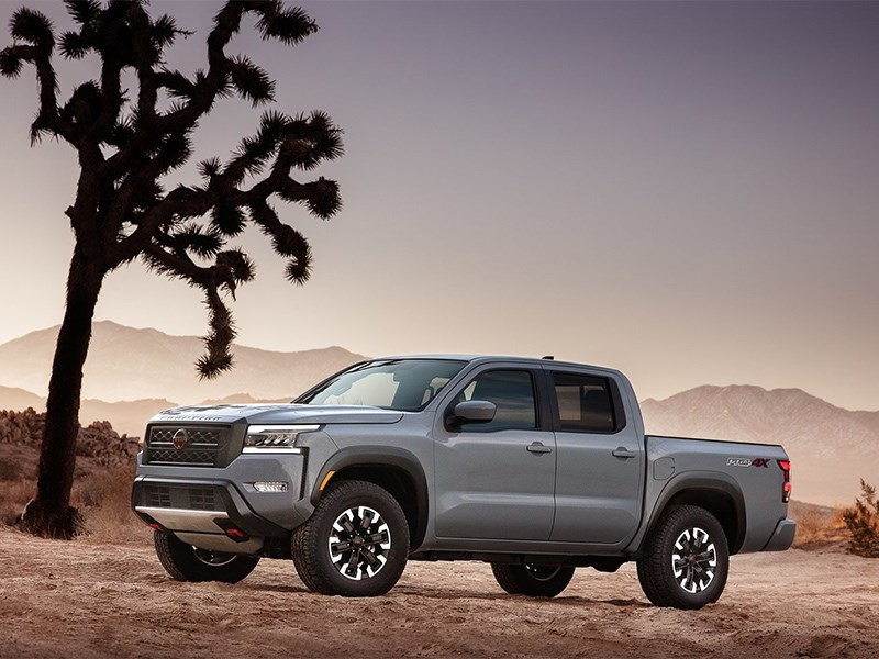 Nissan Frontier рассекретили вслед за Pathfinder