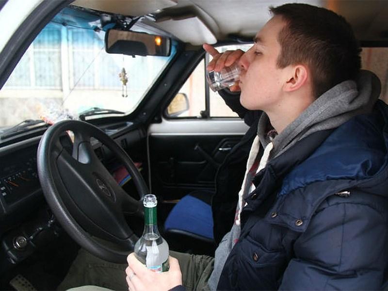 Пьяных водителей будут лишать автомобилей