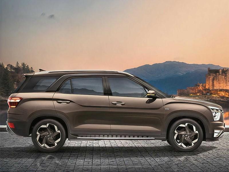 В Hyundai представили семиместную Creta