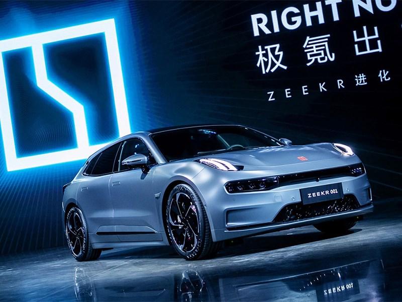 Китайский суббренд концерна Geely представил свой первый электромобиль