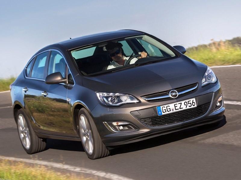 Opel Astra будут выпускать с турбомоторами