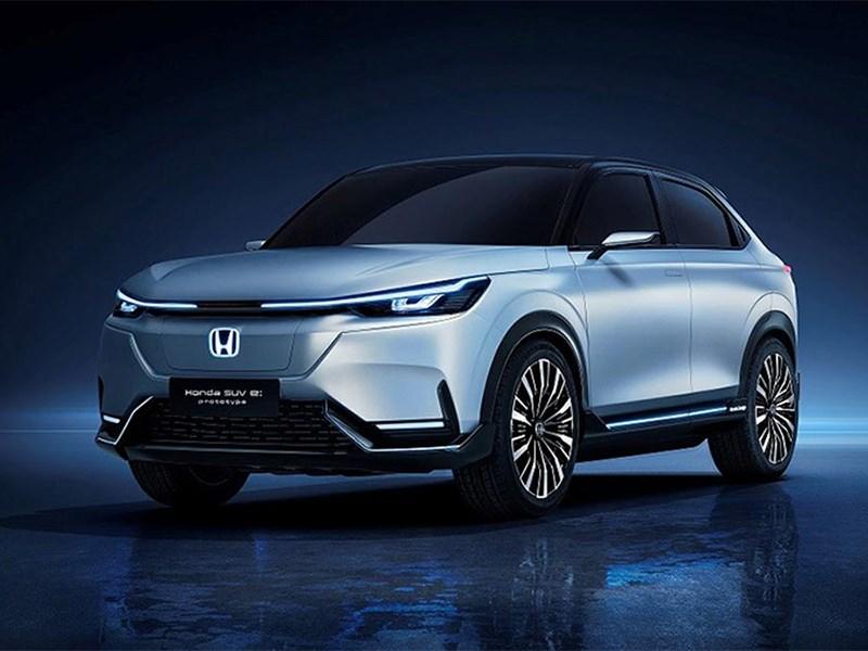 Honda представила свой первый электрический кроссовер