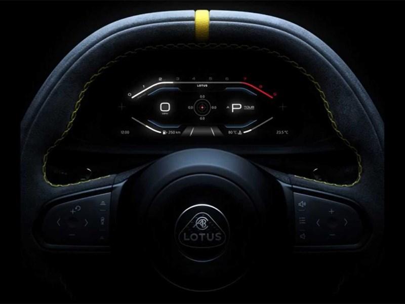 Lotus раскрывает свой спорткар по частям