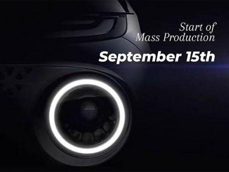 Названа дата начала производства Hyundai Casper