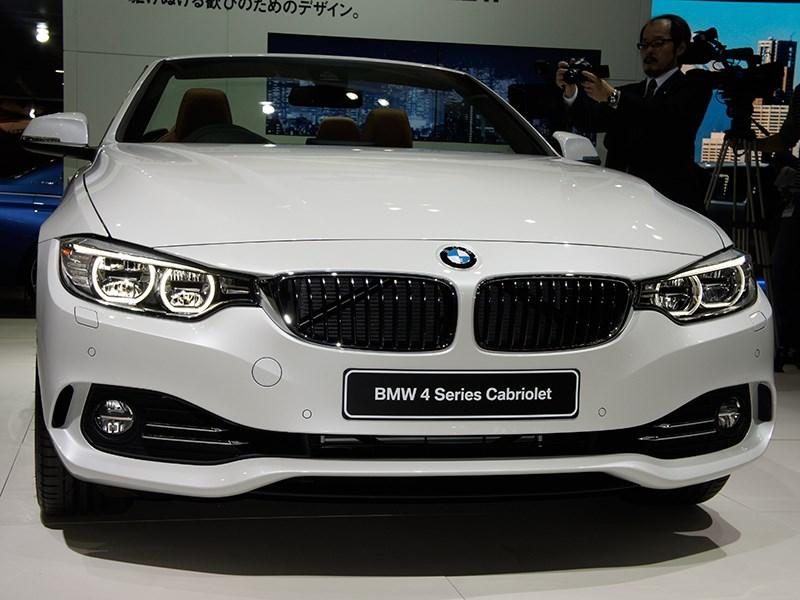 BMW 4-series Cabriolet 2013 вид спереди