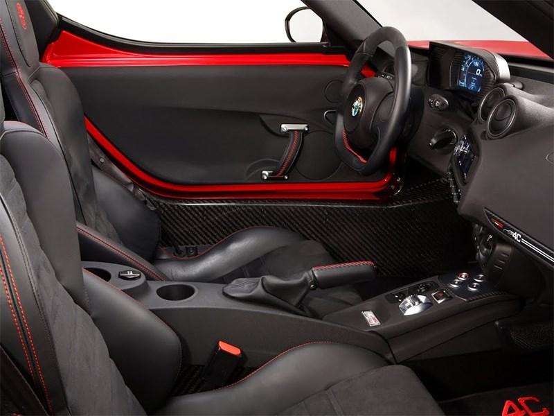 Alfa Romeo 4C 2013 водительское место фото 2