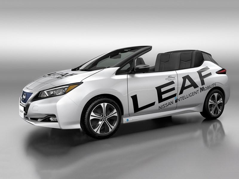 Nissan Leaf лишился крыши