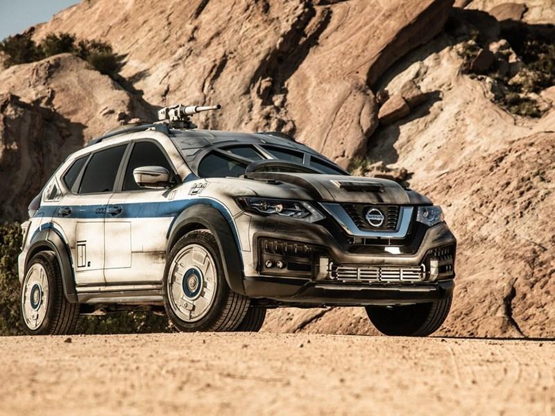 Nissan X-Trail превратили в автомобиль Хана Соло