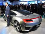 Honda представила в Детройте концептуальное купе