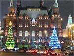 В новогоднюю ночь центр Москвы будет перекрыт