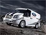 Ford сделал из фургона Transit гоночный автомобиль