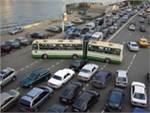 На проспекте Андропова для автобусов сделали отдельную полосу