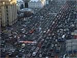 Столичные пробки достигли рекордной отметки