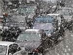 Снегопад снова стал причиной тотальных пробок в Москве