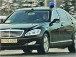 В Москве машина МВД сбила пешехода