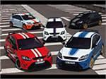 Пять ликов Ford Focus RS Le Mans Classic