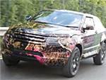 Кроссовер Land Rover LRX готовится к поездке в Париж