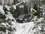 Новый имидж Деда Мороза: Volkswagen вместо оленей