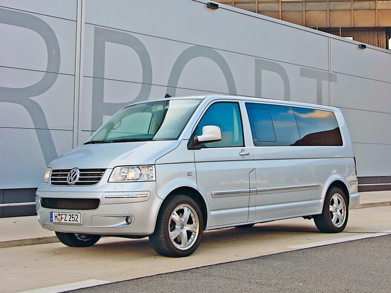 Volkswagen Multivan 2007 модельный год (Multivan 2007)