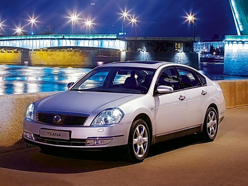 Nissan Teana 2007 модельный год (Nissan Teana)