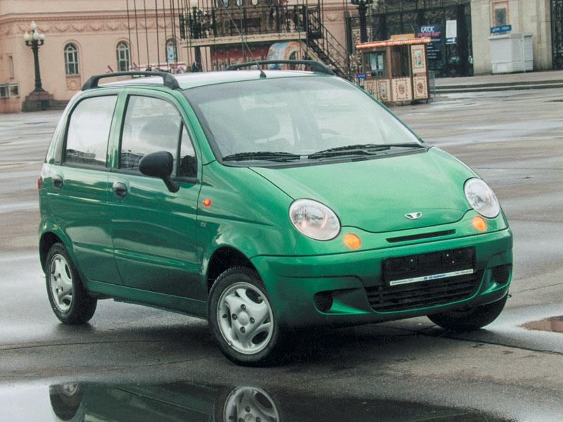 Меньше некуда (Daewoo Matiz, Chevrolet Spark, Kia Picanto)