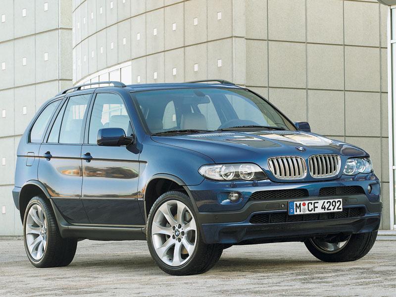 BMW X5, Mercedes-Benz M-Class, Volkswagen Touareg