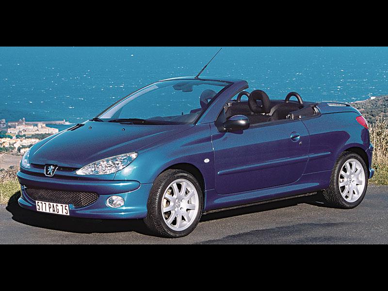 Навстречу ветру (Peugeot 206 CC, Opel Astra Cabriolet, Audi A4 Cabriolet, BMW 6 Series Cabrio)