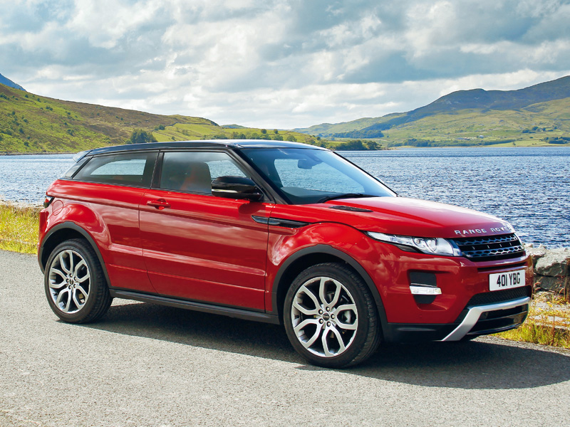Войти в историю (Range Rover Evoque Coupe 5 door)