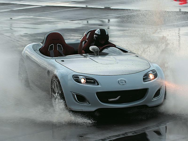 Навстречу ветру (Mazda MX-5 Superlight)