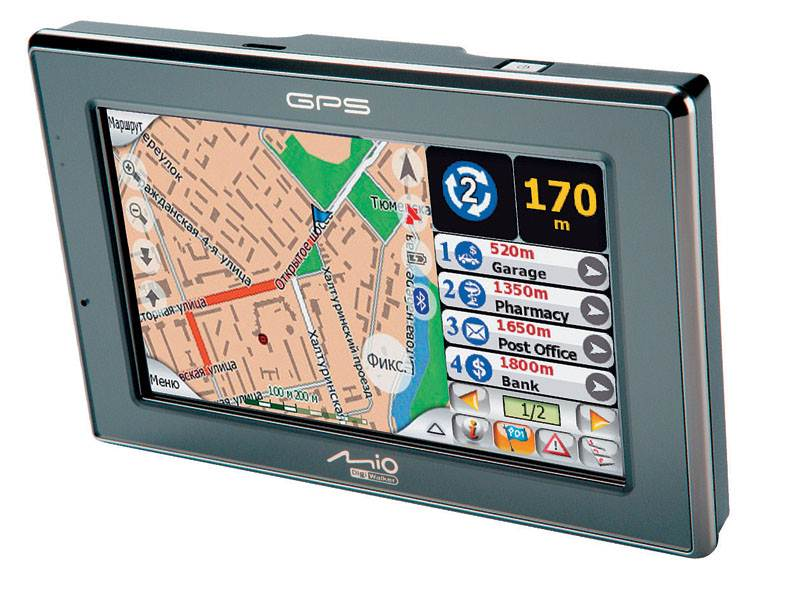 GPS-коммуникаторы и автомобильные навигаторы