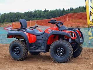 ATV 800 GT.