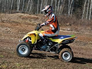 """Suzuki 450 QuadRacer"" – квадроцикл не для всех."