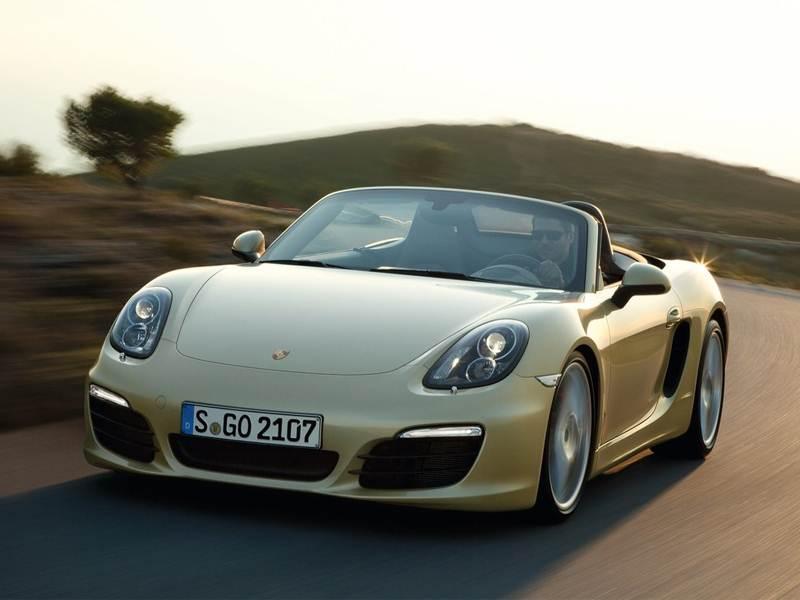 Новый Porsche Boxster - Весне навстречу