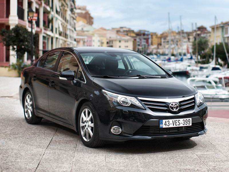 Новый Toyota Avensis - Бархатные реформы