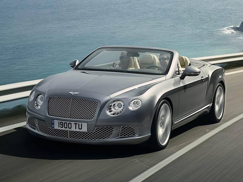 Новый Bentley Continental GTC - Открытие