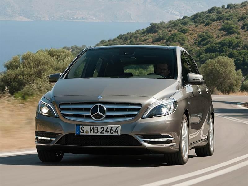 Новый Mercedes-Benz B-Class - Экспрессия