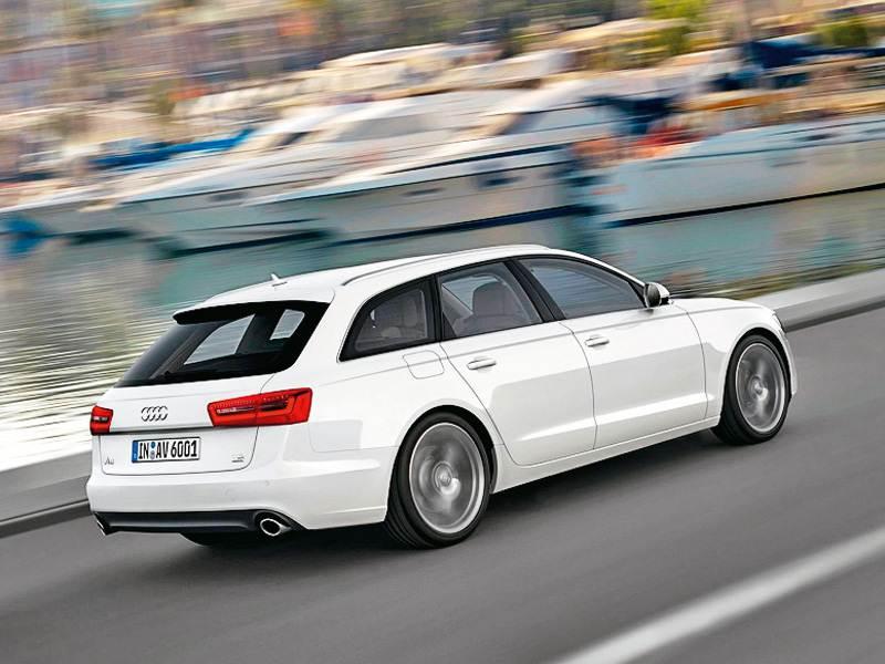 """Новый Audi A6 - Великолепная """"шестерка"""""""