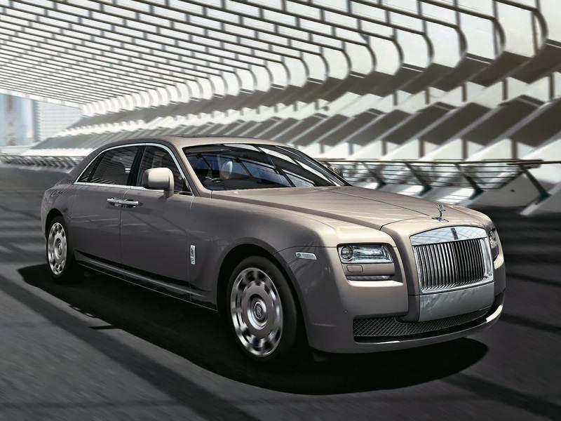 """Новый Rolls-Royce Ghost - В погоне за """"Фантомом"""""""