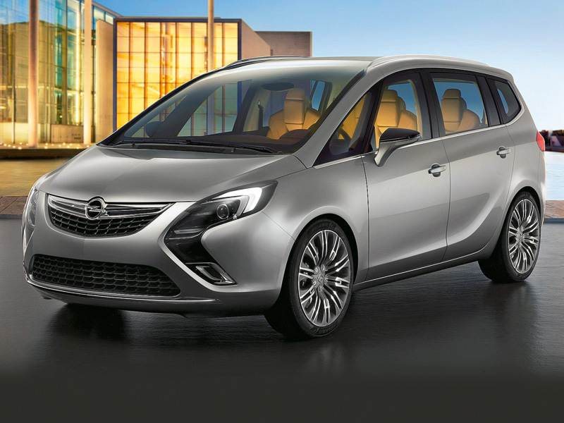 Новый Opel Zafira - Гостиная на колесах