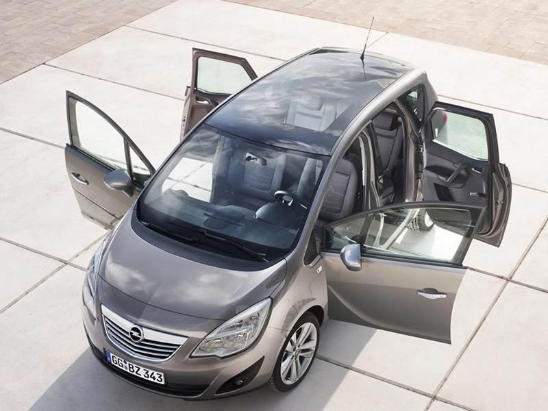 Новый Opel Meriva - Душа нараспашку