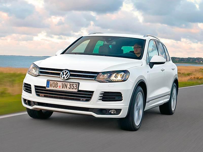 Новый Volkswagen Touareg - Спортивный костюм