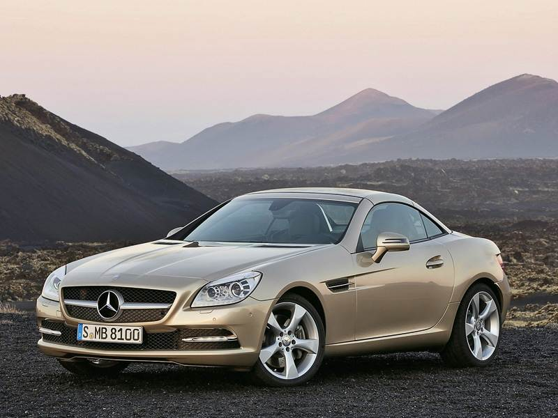 Новый Mercedes-Benz SLK-Class - Семейные традиции