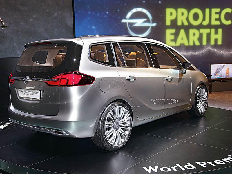 Новый Opel Zafira - Удаленный доступ