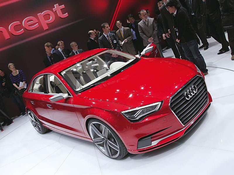 Новый Audi A3 - Нотчбек