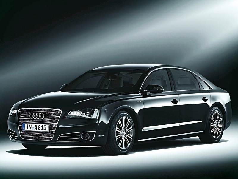 Новый Audi A8 - Защитный панцирь для флагмана
