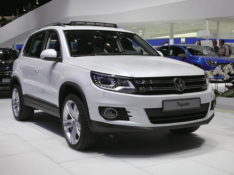 Новый Volkswagen Tiguan - Кроссовер двойного назначения